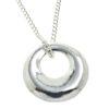 Cornish tin donut pendant