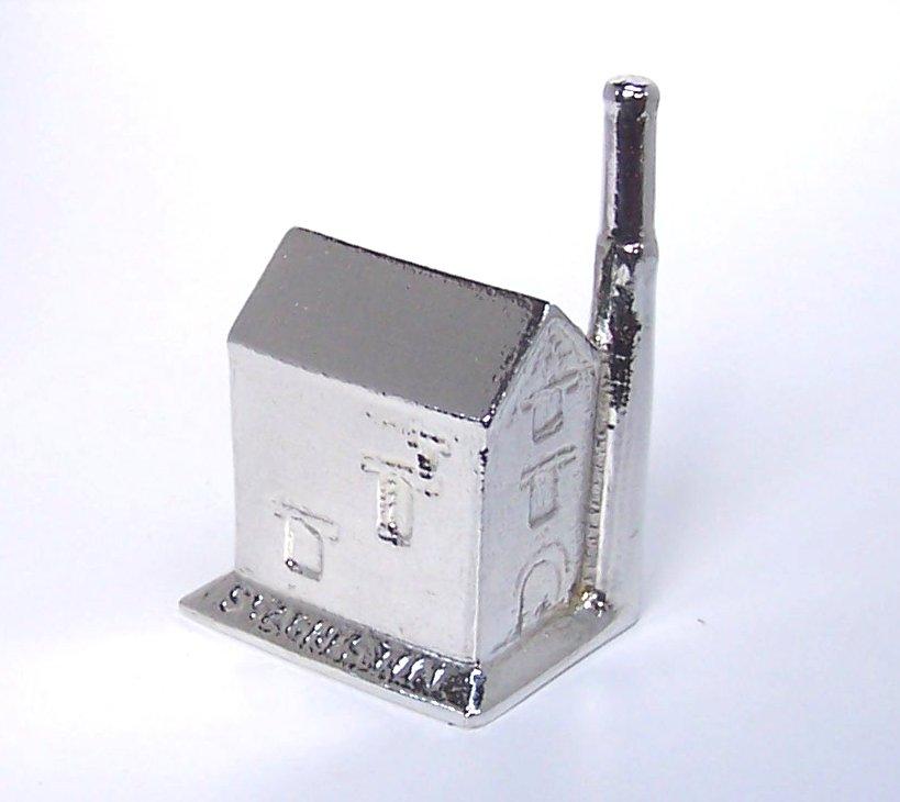 Cornish tin mine with roof cast in Cornish tin