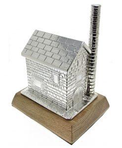 Cornish tin mine trinket box