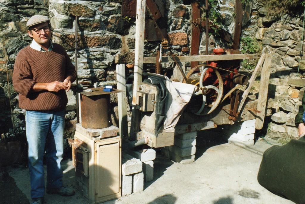 Cornish Tin smelting at Blue Hills Tin